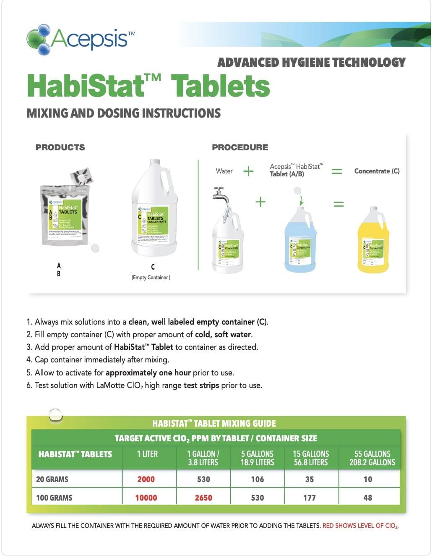 HabiStat_TabletMixingGuide